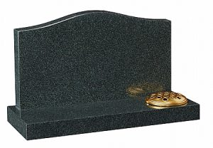Coral Green Granite Cremation Memorial - 16196