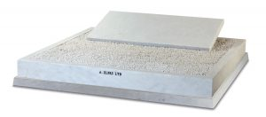White Marble Jewish Headstone with White Chippings - ED10A